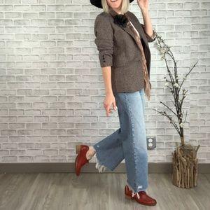 Vintage Nordstrom Tweed Boyfriend Blazer